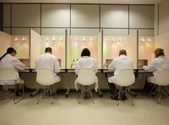 Laboratorio Sensorial, Analisis de alimentos, Azti-Tecnalia, Centro Tecnológico de Investigación Marina y Alimentaria, Derio, Bizkaia, Euskadi, España