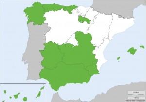 EITFood SPAIN RIS REGIONS