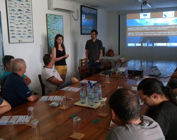 Nuevos pasos en la experimentación con DCPs biodegradables. Taller en Mahé (Seychelles)