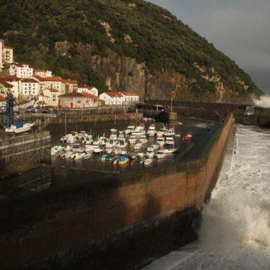 olas en puerto cambio climatico
