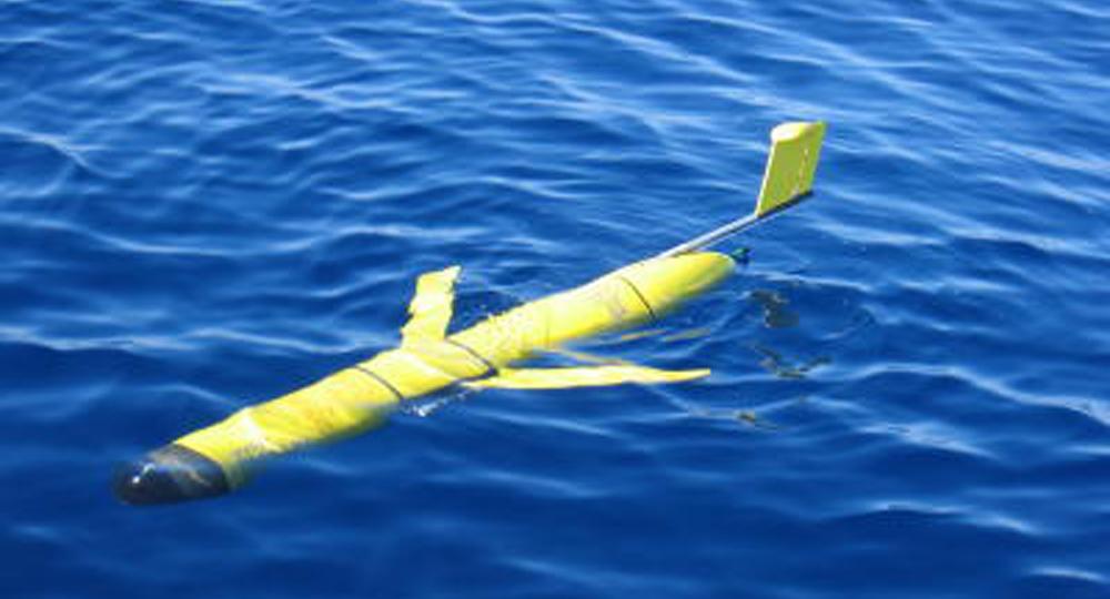 glider para conocer la columna de agua del golfo de Bizkaia