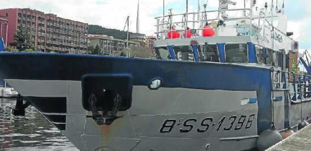 barco ortze hibrido mas sostenible