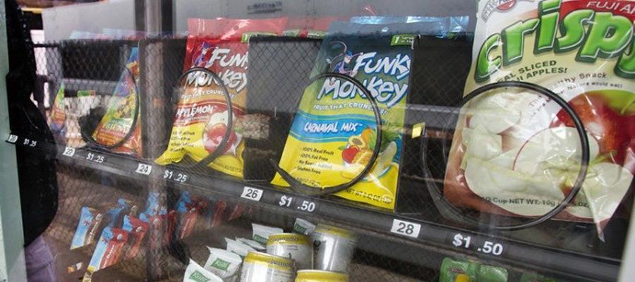 vending de alimentos saludables