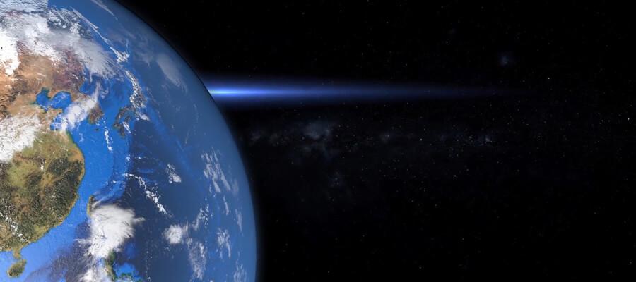 mundo visto desde el espacio