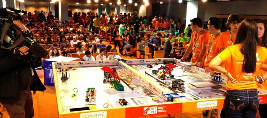 First lego league competicion