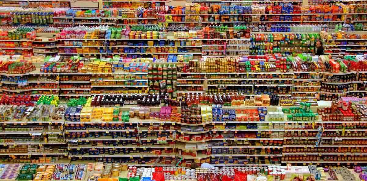 estanterías supermercado