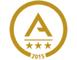 logo-reconocimiento-oro-gestion-avanzada-acreditacion-certificado-sobre-azti