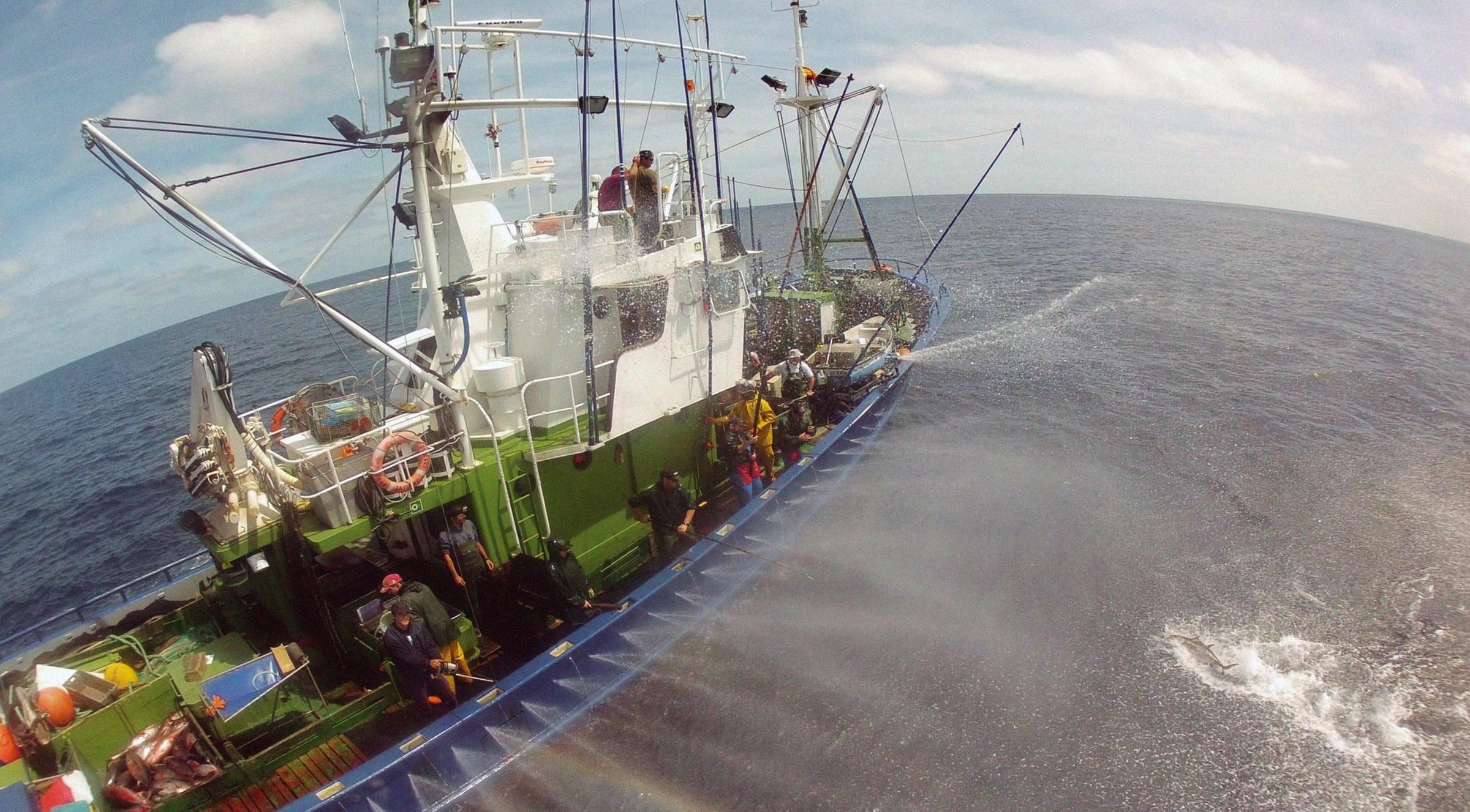 impacto del cambio climático en la pesca