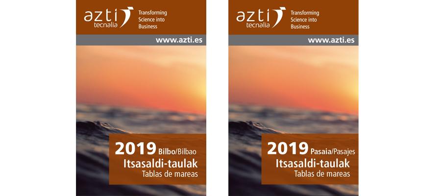 Portadas Tablas Mareas 2019