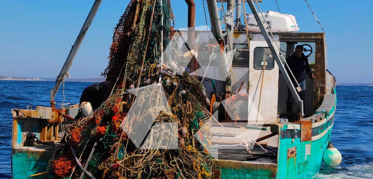 reciclaje de redes marinas