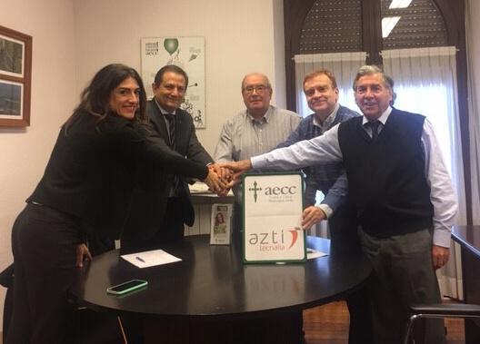 firma convenio azti y aecc