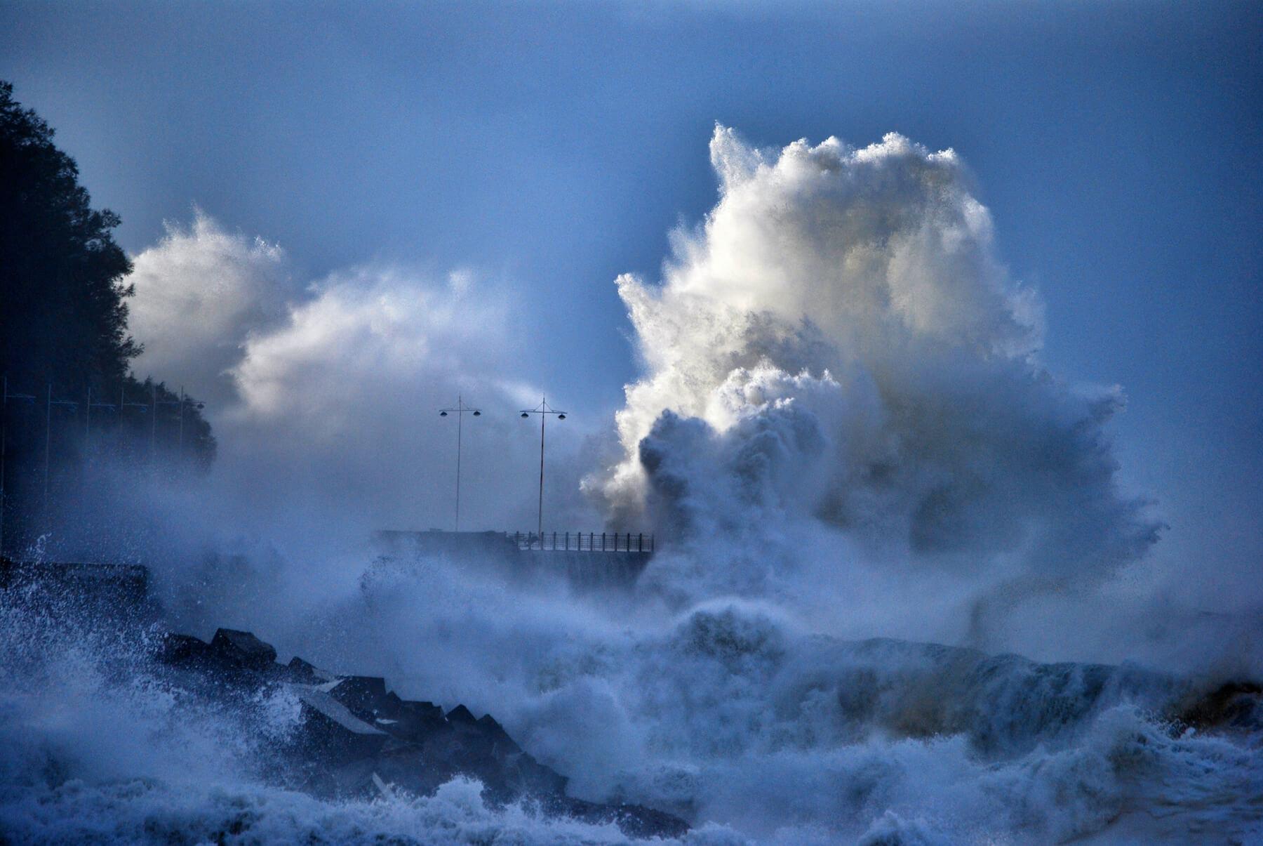 cambio climatico olas