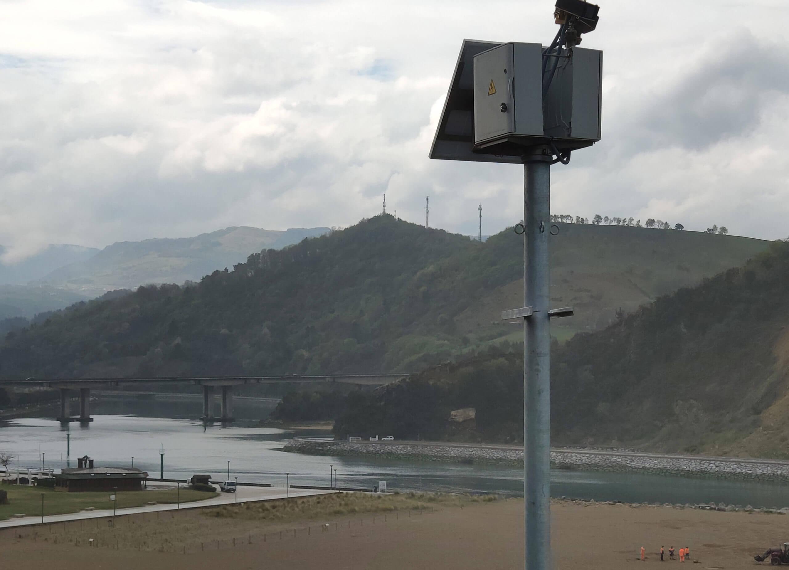 monitorizacion playas de Gipuzkoa con el sistema KostaSystem