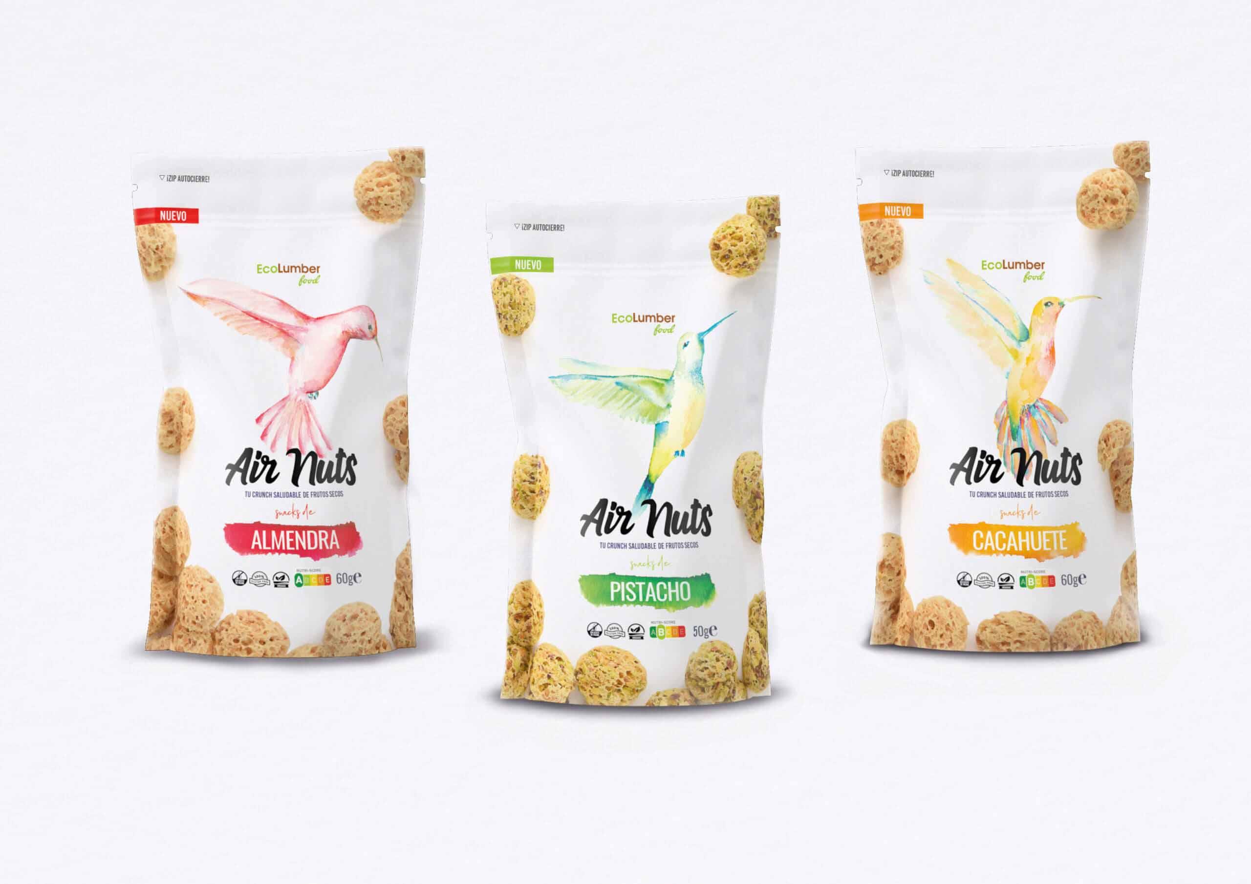 air nuts snacks saludables