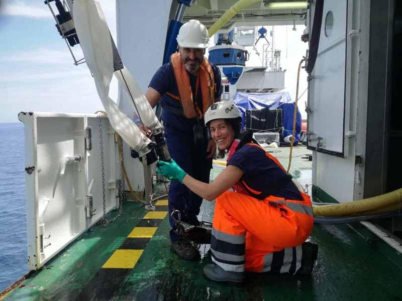 campaña Bioman de biomasa de la anchoa