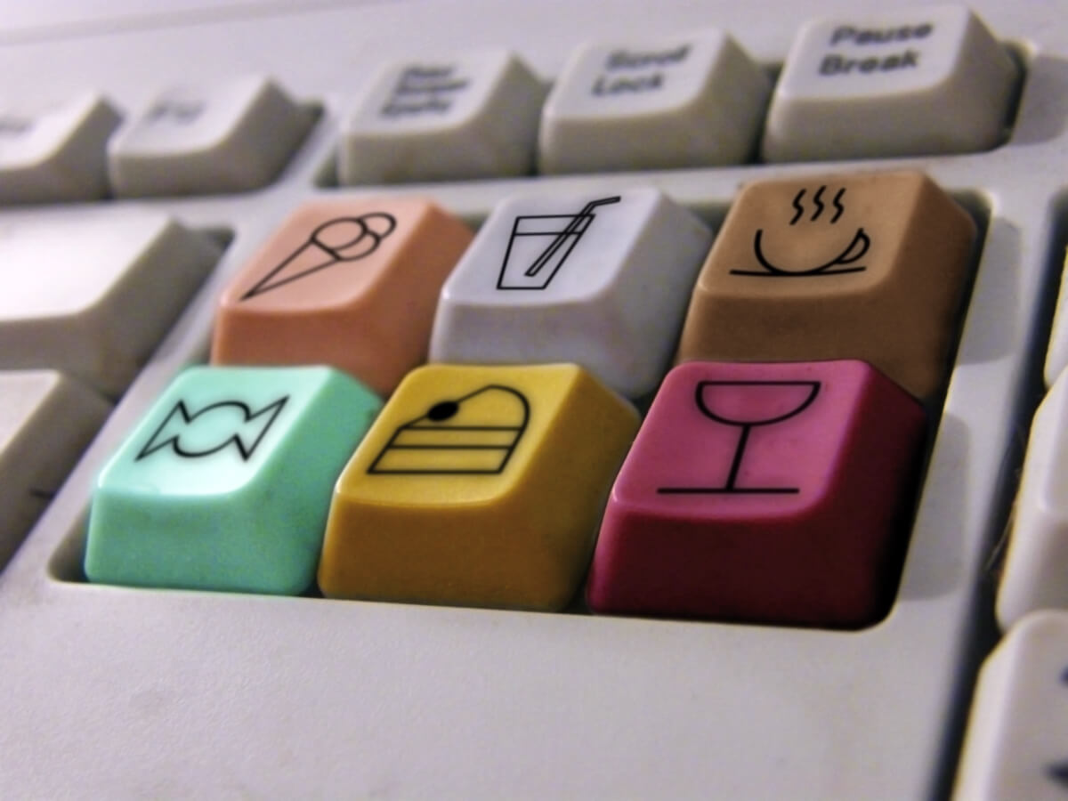 teclado digitalización cadena alimentaria