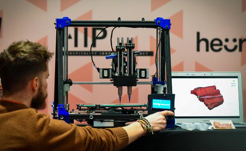 Impresión de alimentos en 3D, una de las tecnologías en auge que presentarán en Food 4 Future