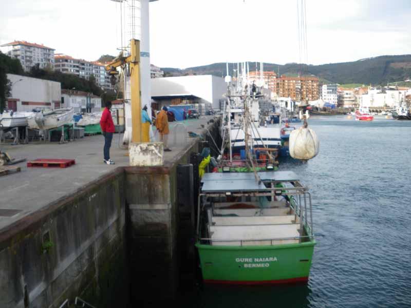 segurida laboral en barcos de pesca