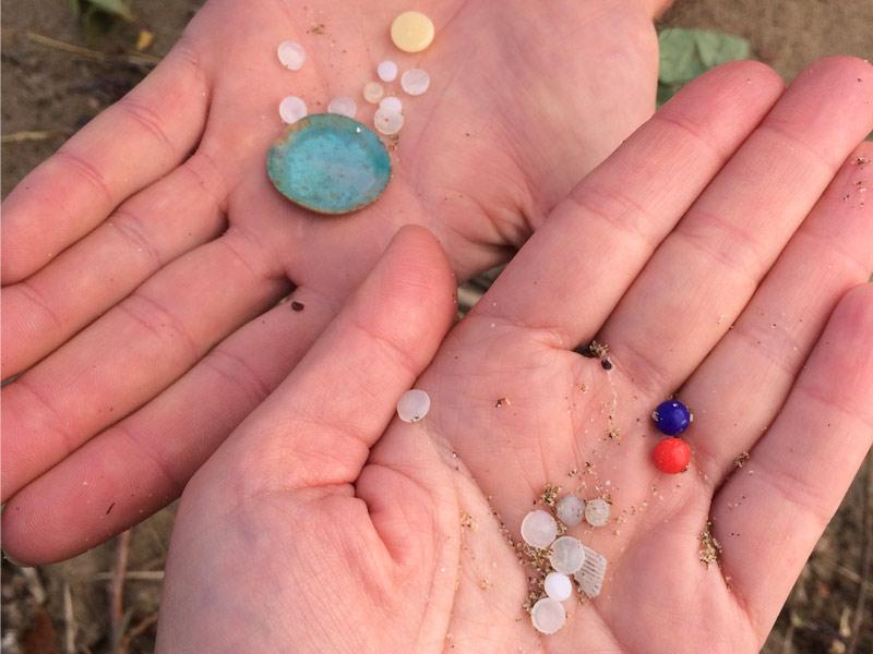 Los microplásticos, contaminacion marina emergente