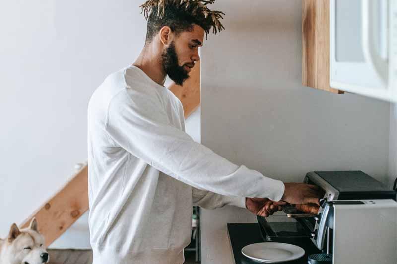 cocinado en casa