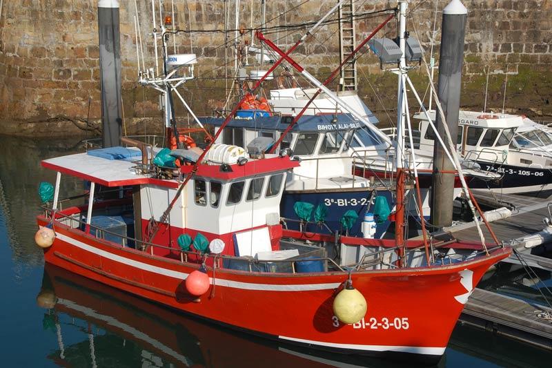 barcos pesqueros de pequena escala