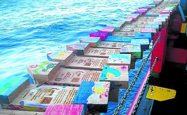 alfabetizacion marina barcos madera